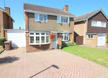 Thumbnail 4 bed detached house for sale in Turnpike Drive, Luton, Bedfordshire