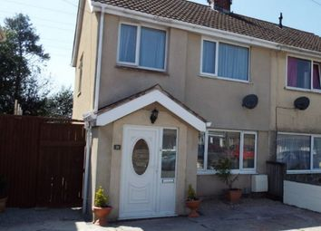 Thumbnail 3 bed semi-detached house for sale in 21 Denver Road, Fforestfach, Swansea