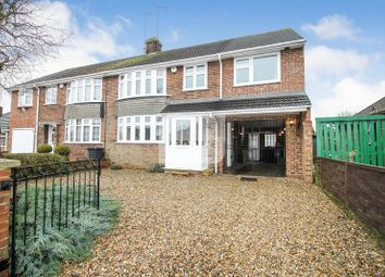Thumbnail 4 bed semi-detached house for sale in Onslow Road, Luton