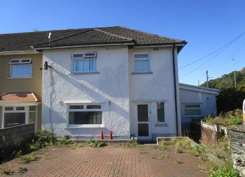 Thumbnail 3 bedroom semi-detached house for sale in Tanygarth, Abercrave, Swansea.