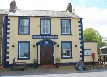Thumbnail Commercial property for sale in The Hope And Anchor Public House, Port Carlisle, Wigton, Cumbria