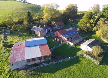 Thumbnail 4 bedroom farm for sale in Llanfechain