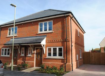 Thumbnail 2 bedroom semi-detached house to rent in Dunnett Close, Hartley Wintney, Hook