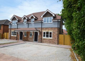 Thumbnail 3 bed semi-detached house for sale in London Road, Clanfield, Waterlooville
