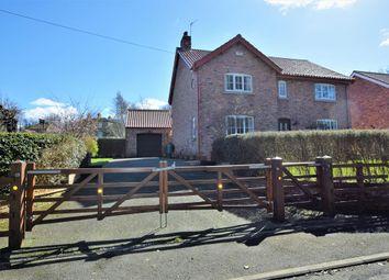 Thumbnail 4 bed detached house for sale in Scarborough Road, West Heslerton, Malton