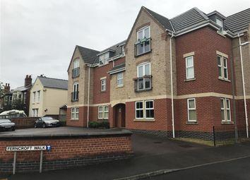 Thumbnail 1 bedroom flat to rent in Ferncroft Walk, Chellaston, Derby