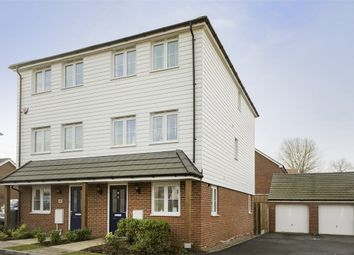 Thumbnail 4 bed semi-detached house for sale in Viscount Square, Talmead, Herne Bay, Kent