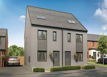 "Thumbnail 3 bed semi-detached house for sale in ""The Bickleigh"" at Church Road, Old St. Mellons, Cardiff"