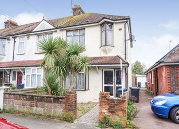 Thumbnail 3 bed end terrace house for sale in Shandon Road, Worthing