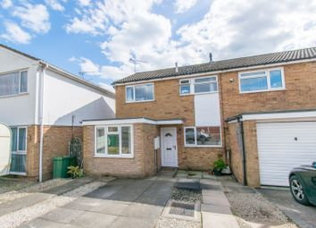 Thumbnail 3 bed semi-detached house for sale in Sonning Way, Leicester