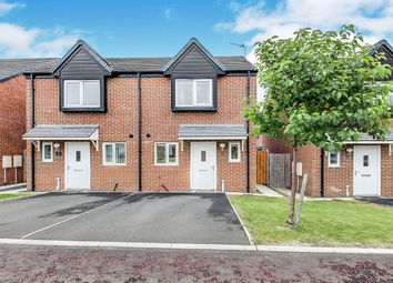 Thumbnail 2 bed semi-detached house for sale in Walkerfield Court, Newcastle Upon Tyne