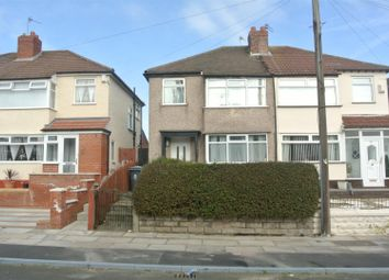 Thumbnail 3 bed semi-detached house for sale in Trent Avenue, Bowring Park, Liverpool