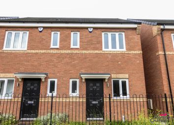 Thumbnail 2 bed semi-detached house to rent in Shropshire Close, Walsall, West Midlands