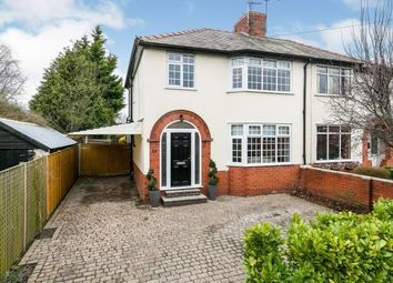 Thumbnail 3 bed semi-detached house for sale in Moorcroft Avenue, Great Boughton, Chester, Cheshire