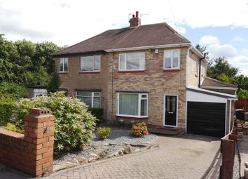 Thumbnail 3 bed semi-detached house for sale in Hillhead Road, West Denton, Newcastle Upon Tyne