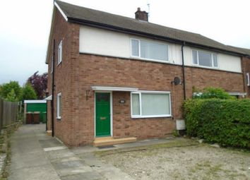 Thumbnail 3 bed semi-detached house to rent in Rhodes Crescent, Pontefract
