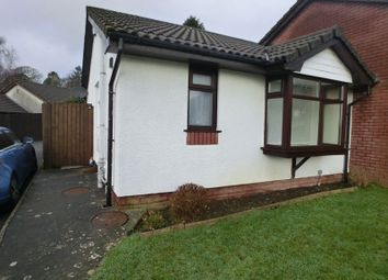 Thumbnail 1 bed bungalow for sale in Edison Crescent, Clydach, Swansea