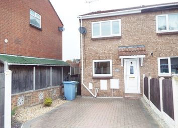 Thumbnail 2 bed town house for sale in Holding, Worksop, Nottinghamshire