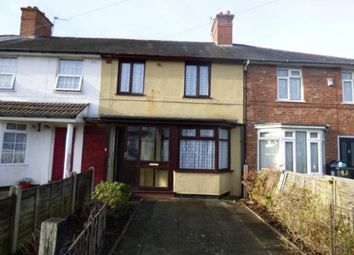 Thumbnail 3 bed terraced house for sale in Colemeadow Road, Billesley, Birmingham, West Midlands