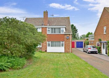 Thumbnail 3 bed semi-detached house for sale in Ashenden Close, Canterbury, Kent