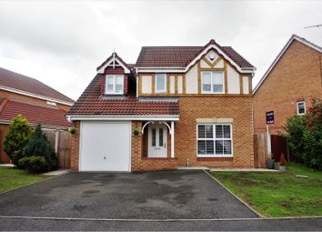 Thumbnail 4 bed detached house for sale in Thirlmere Close, Winsford