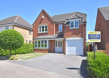 Thumbnail 4 bed detached house for sale in Lapwing Close, Packmoor, Stoke-On-Trent