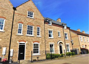 Thumbnail 4 bedroom town house for sale in Nickleby Way, Fairfield, Stotfold, Herts