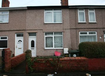 Thumbnail 2 bed terraced house for sale in Highfield Road, Ellesmere Port, Cheshire.