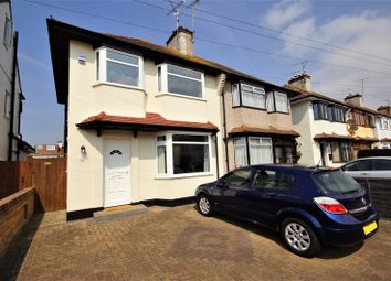 Thumbnail 3 bed semi-detached house for sale in Connaught Gardens, Shoeburyness, Southend-On-Sea