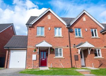 Thumbnail 3 bedroom semi-detached house for sale in Kineton Way, Sunderland