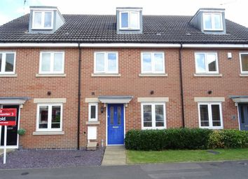 Thumbnail 3 bed town house for sale in Richmond Gate, Hinckley