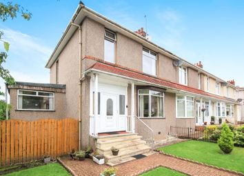 Thumbnail 3 bed end terrace house for sale in Kingswood Drive, Kings Park, Glasgow