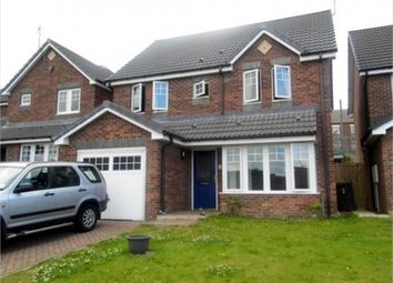 Thumbnail 4 bed detached house to rent in Derwent Rise, Stanley, Durham