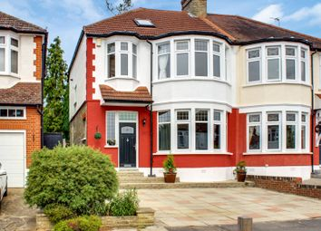 Thumbnail 4 bedroom semi-detached house for sale in Woodland Way, Winchmore Hill