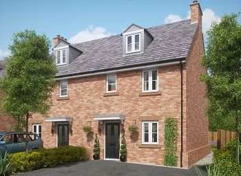 Thumbnail 4 bed semi-detached house for sale in Church Street, Davenham, Northwich