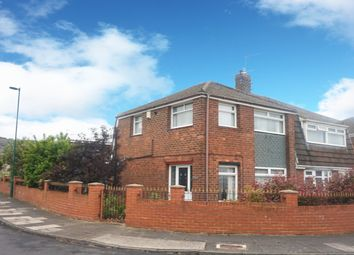 Thumbnail 3 bedroom semi-detached house for sale in Glastonbury Avenue, Eston, Middlesbrough