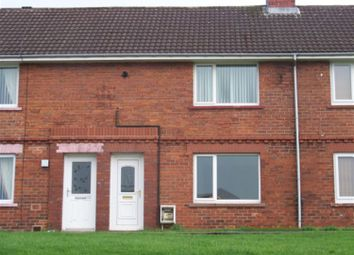 Thumbnail 2 bed terraced house to rent in Surrey Crescent, Moorside, Consett