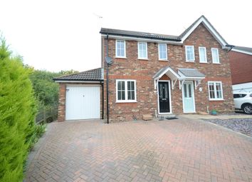Thumbnail 4 bed semi-detached house for sale in Hebbecastle Down, Warfield, Bracknell