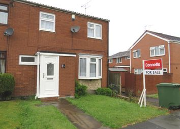 Thumbnail 3 bedroom end terrace house for sale in Laneside Gardens, Walsall
