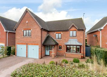 Thumbnail 4 bedroom detached house for sale in Woodcock Close, Gilmorton, Lutterworth, Leicestershire