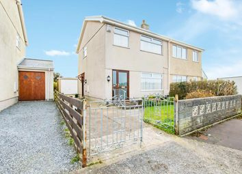 Thumbnail 3 bed semi-detached house for sale in Rhyd-Y-Fenni, Crofty, Swansea