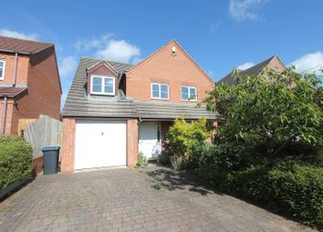 Thumbnail 4 bed detached house for sale in Drovers Way, Desford, Leicester