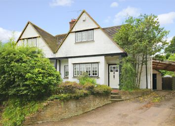 Thumbnail 3 bed semi-detached house for sale in Newlands Avenue, Radlett