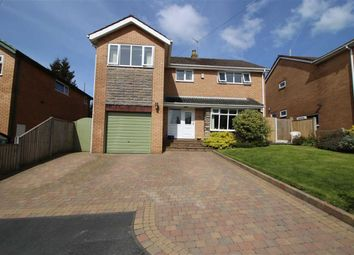 Thumbnail 4 bed detached house for sale in Darwen Close, Longridge, Preston