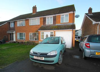Thumbnail 4 bed semi-detached house to rent in Rectory Close, Crick, Northampton, Northamptonshire