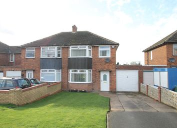 Thumbnail 3 bed semi-detached house for sale in Coronation Road, Hurley, Atherstone