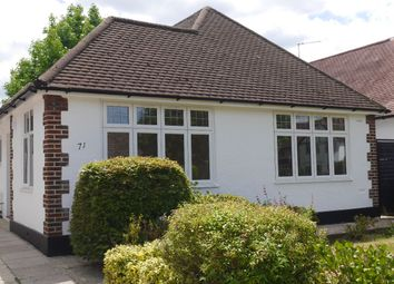 Thumbnail 2 bed bungalow to rent in Bushey Road, Croydon
