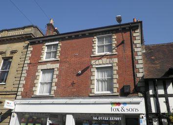Thumbnail 1 bedroom flat to rent in Castle Street, Salisbury