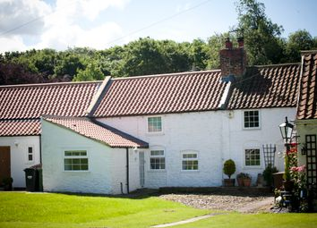 Thumbnail 2 bed cottage for sale in The Green, Cleasby, Darlington
