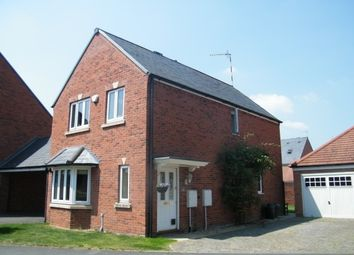 Thumbnail 3 bedroom detached house to rent in Wordsworth Avenue, Stratford-Upon-Avon